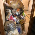 熊本市中央区引越ゴミ回収/不用品回収事例