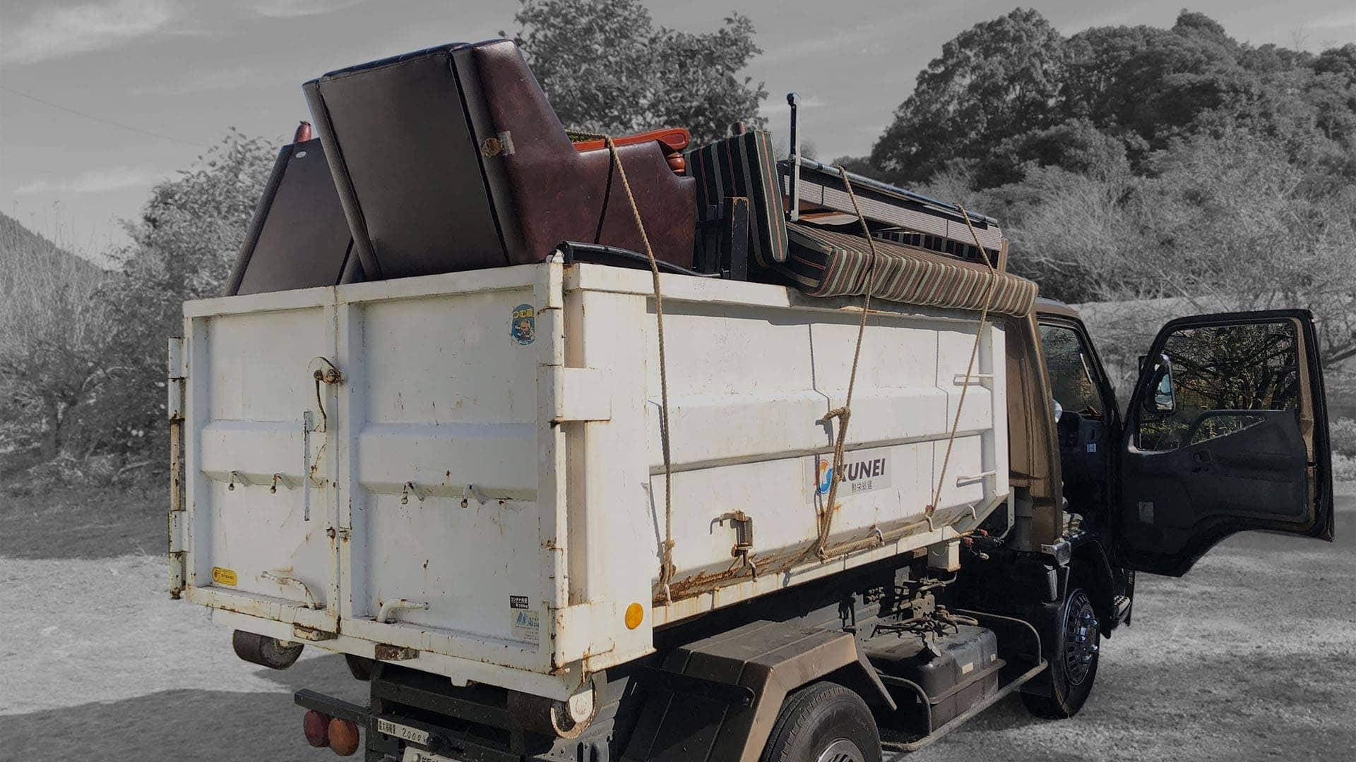 不用品回収・粗大ゴミ処分2トントラック