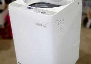 シャープ洗濯機5.5㎏2018年式